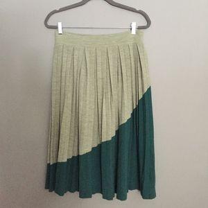Anthropologie Charlie & Robin Wool Skirt